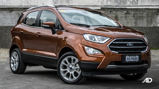 ford ecosport titanium road test exterior front philippines