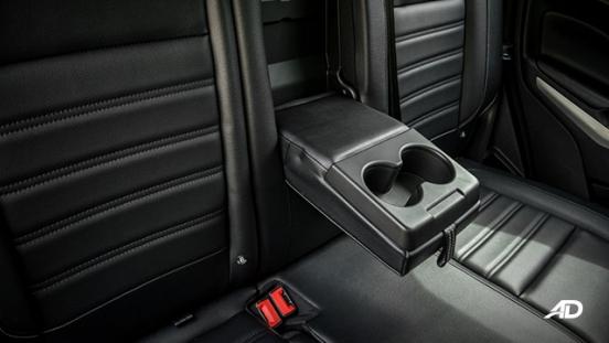 ford ecosport titanium road test interior cupholders