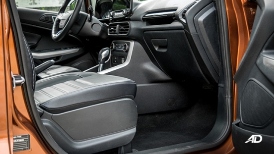 ford ecosport titanium road test interior front cabin