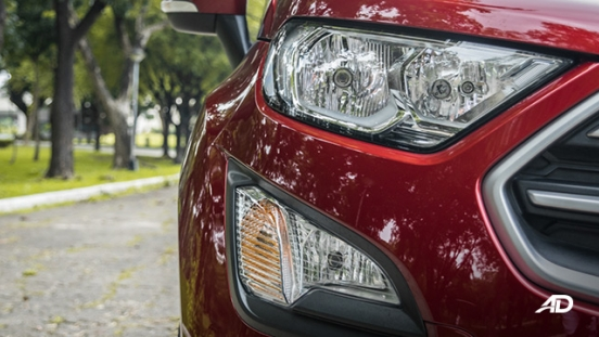 ford ecosport trend road test exterior headlights