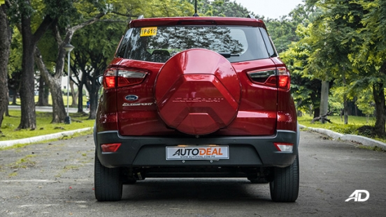 ford ecosport trend road test exterior rear philippines