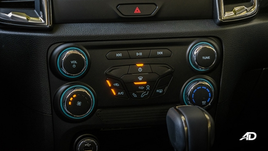 ford ranger fx4 climate control interior