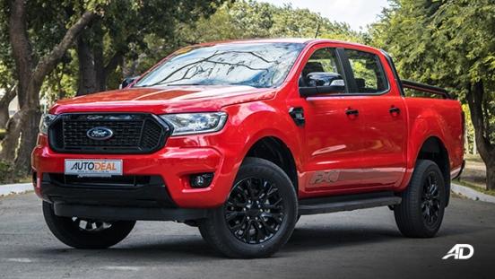 ford ranger fx4 front quarter exterior