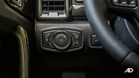 ford ranger fx4 headlight control interior