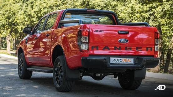 ford ranger fx4 rear quarter exterior