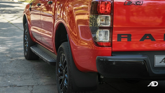 ford ranger fx4 taillights exterior