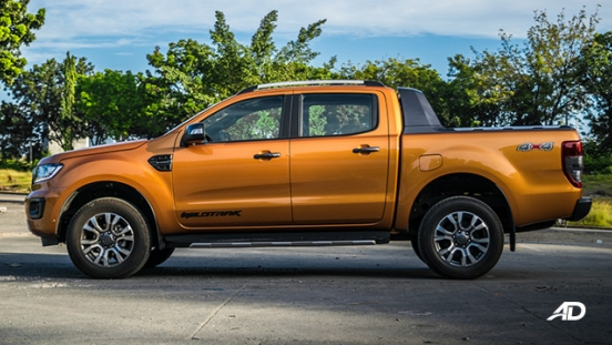 ford ranger road test exterior side