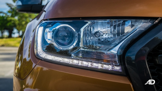 ford ranger road test headlights
