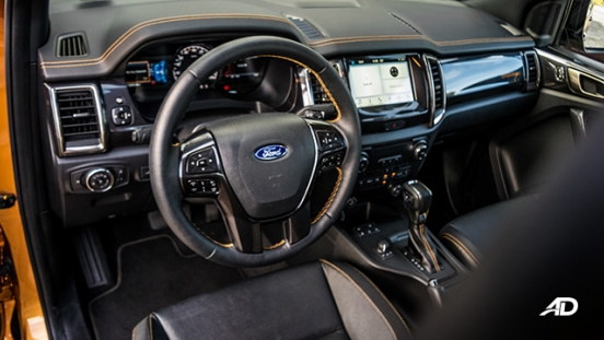 ford ranger road test interior cabin