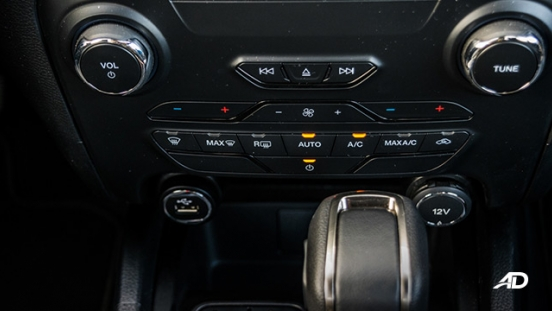 ford ranger road test interior climate control