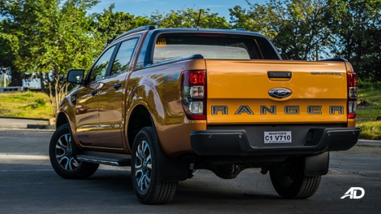 ford ranger road test rear exterior philippines