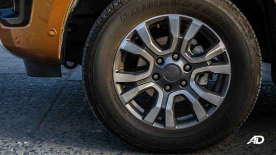 ford ranger road test wheels