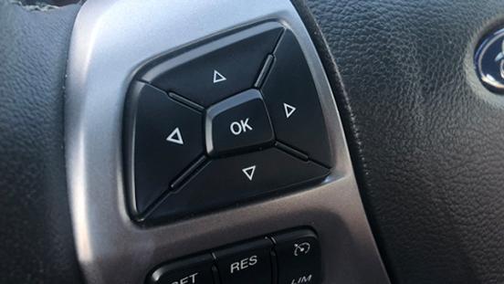 Ford Ranger XLT MT steering wheel controls
