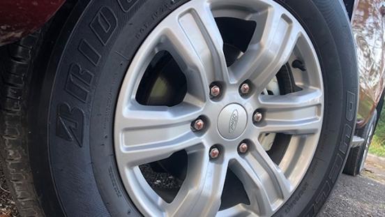 Ford Ranger XLT MT wheels