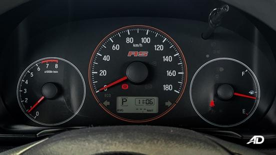 honda brio rs road test interior gauge clusters