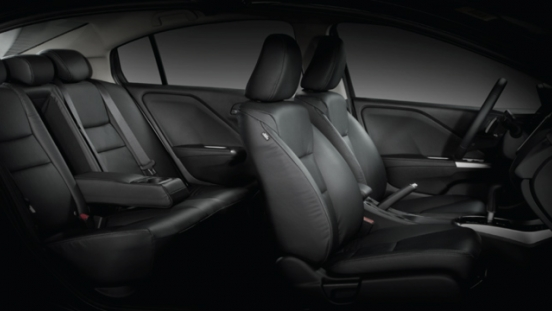 Honda City 1.5 E CVT 2018 cabin