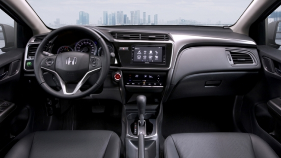 Honda City 1.5 E CVT 2018 dashboard