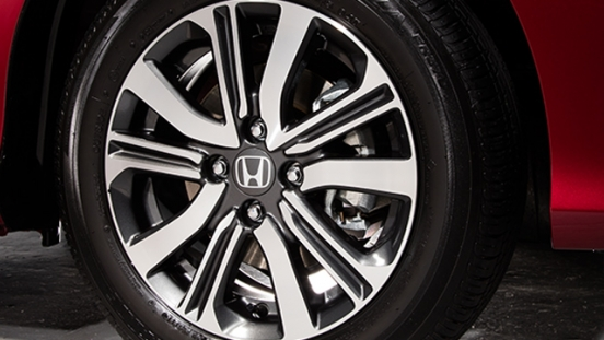 Honda City 1.5 E CVT 2018 wheel