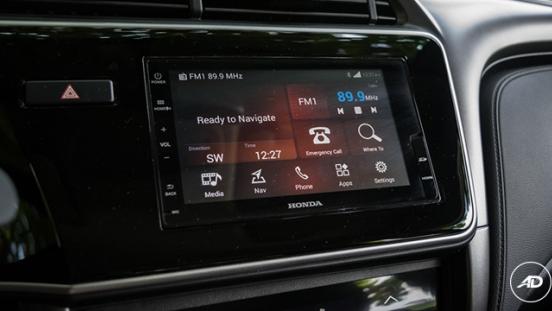 Honda City 1.5 VX NAVI CVT 2018 display