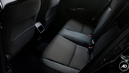 Honda City 1.5 VX NAVI CVT 2018 rear seat