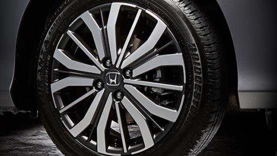 Honda City 1.5 VX+ NAVI CVT 2018 wheel