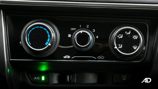 honda city road test climate control interior philippines