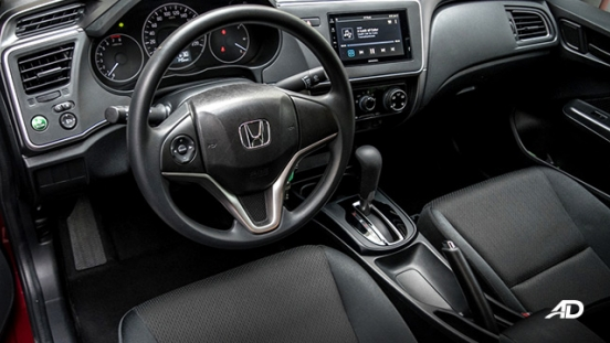 honda city road test front cabin interior