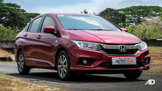 honda city road test front quarter exterior philippines