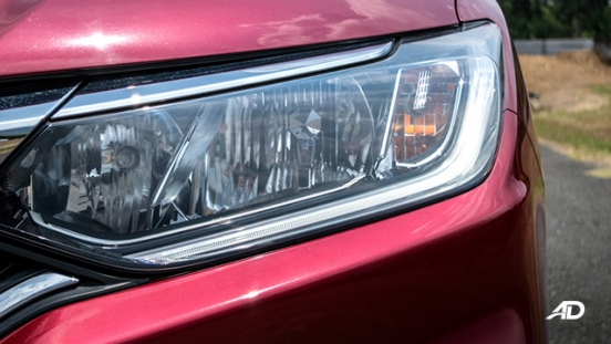 honda city road test headlights exterior