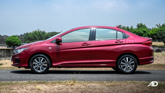 honda city road test side exterior philippines