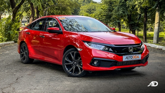 honda civic road test exterior front philippines