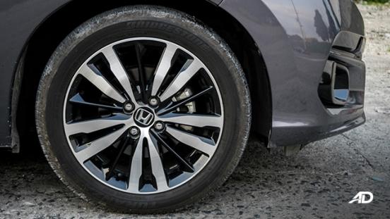 honda jazz road test exterior wheels