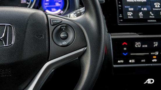 honda jazz road test interior steering wheel controls