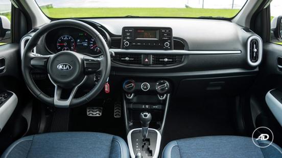 Kia Picanto 1.2 GT-Line AT 2018 dashboard