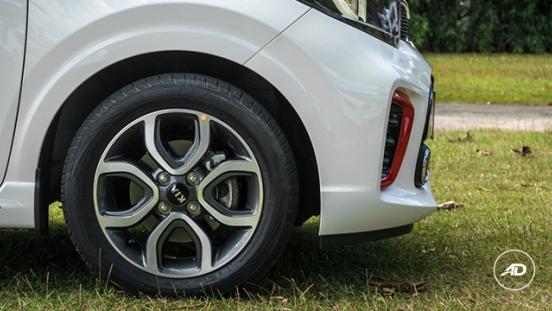 Kia Picanto 1.2 GT-Line AT 2018 wheel