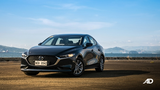 mazda3 elite sedan review road test beauty shot exterior
