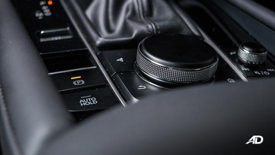 mazda3 elite sedan review road test command infotainment interior
