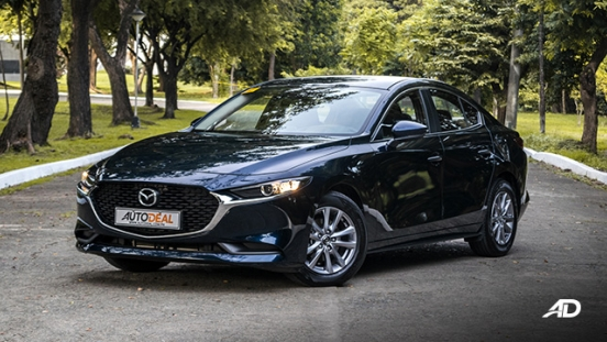 mazda3 elite sedan review road test front quarter exterior