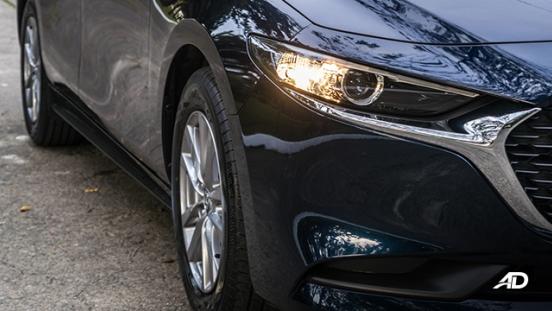 mazda3 elite sedan review road test headlights exterior philippines