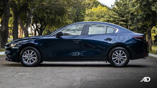 mazda3 elite sedan review road test side view exterior philippines