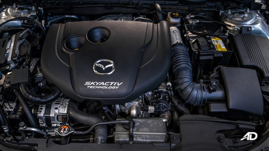 mazda6 sedan road test engine
