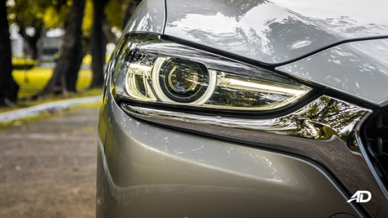 mazda6 sedan road test exterior headlights philippines