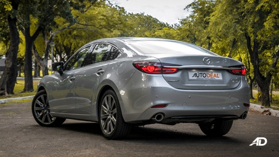 mazda6 sedan road test exterior rear