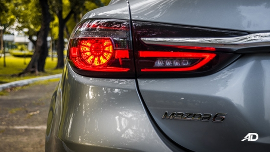 mazda6 sedan road test exterior taillights philippines