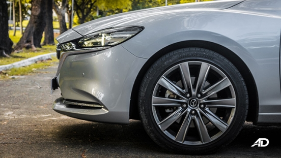 mazda6 sedan road test exterior wheels