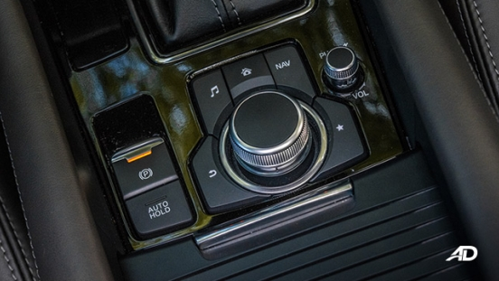 mazda6 sedan road test interior command knob