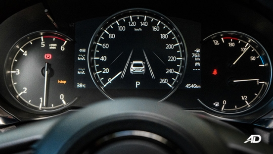 mazda6 sedan road test interior instrument