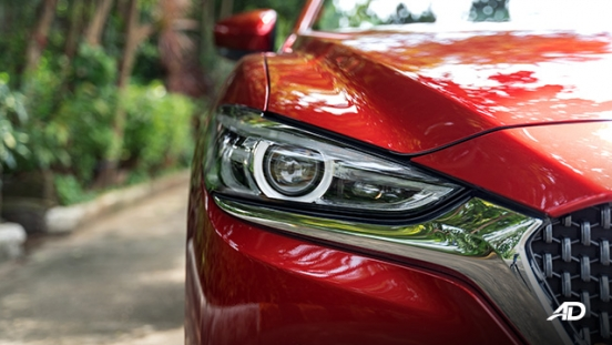 mazda6 sedan turbo road test exterior headlights