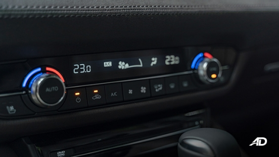 mazda6 sedan turbo road test interior climate control