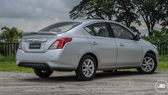 Nissan Almera 1.5 VL AT 2018 Philippines rear